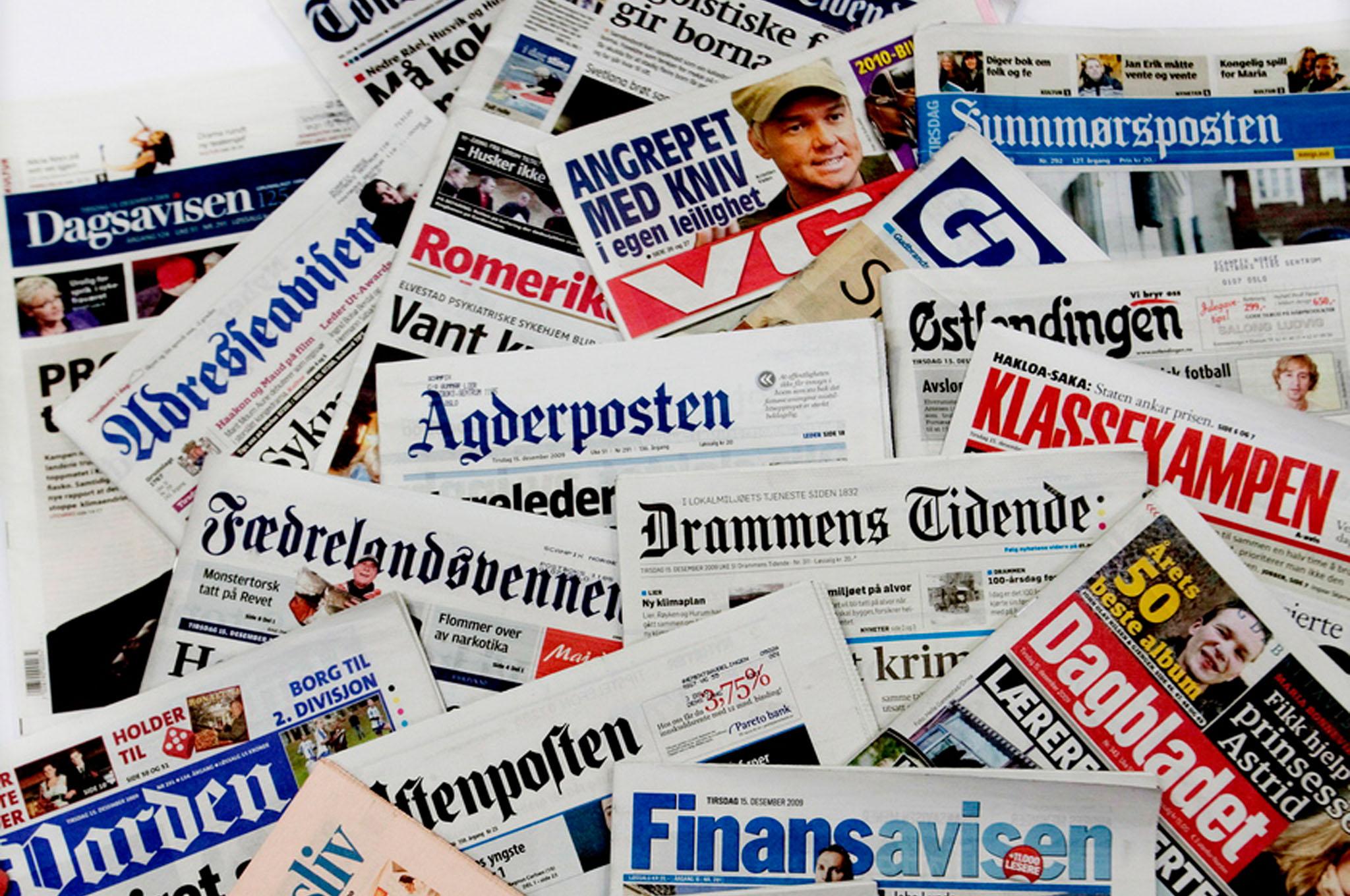 norges største aviser Lillesand