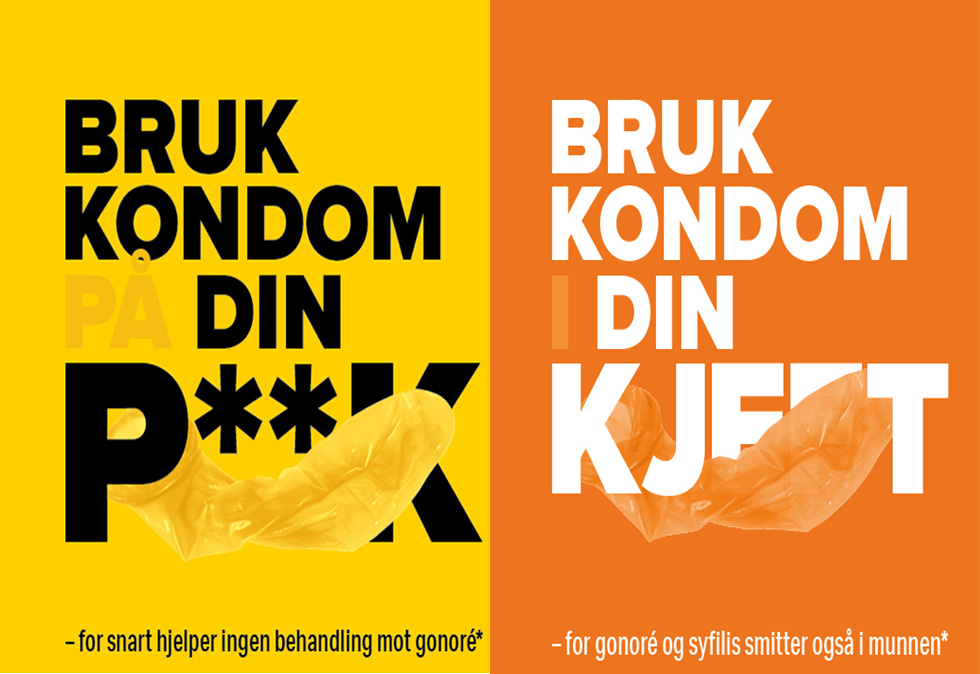 Helsedirektoratet Og Dinamo Tar Pa Kondomet Kampanje