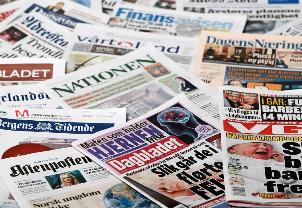 norges største aviser partreff
